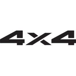 Autocolante- 4x4  - 3