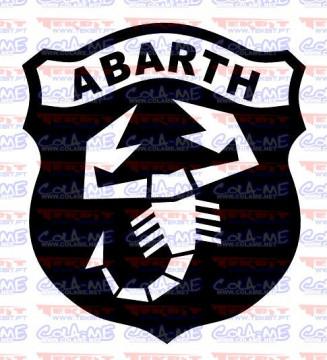 Autocolante - Abarth Logo
