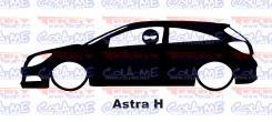 Autocolante - Astra H Com Stig