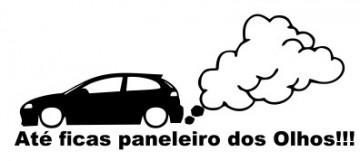 Autocolante - Até ficas paneleiro dos olhos!!! Ibiza 6L