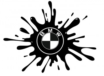 Autocolante - BMW Splash