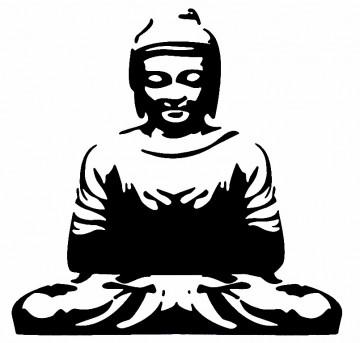 Autocolante - Buda