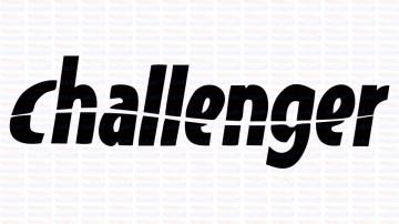 Autocolante - Challenger
