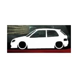 Autocolante - Citroen Saxo MK2