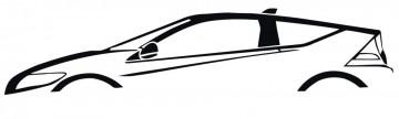 Autocolante com Honda CR-Z