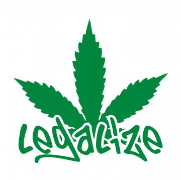 Autocolante com Legalize