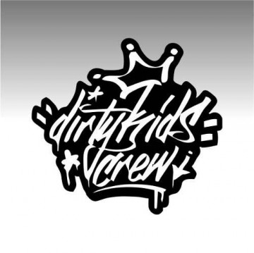 Autocolante - Dirty Kids Crew