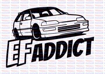 Autocolante - EF Addict.