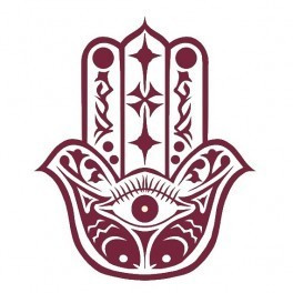 Autocolante - Evil Eye Hand
