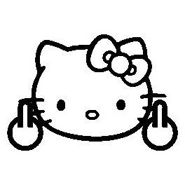 Autocolante - Hello Kitty 11