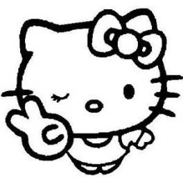 Autocolante - Hello Kitty 8