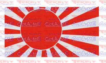 Autocolante Impresso - Bandeira Japão