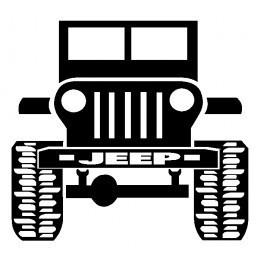 Autocolante - Jipe 3 (Jeep)