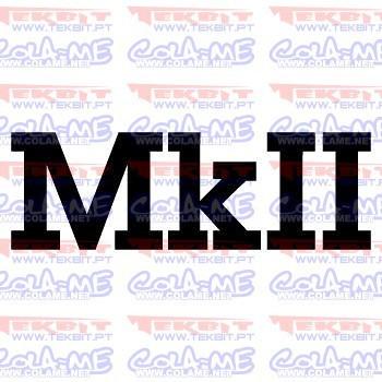 Autocolante - MkII
