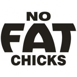 Autocolante - No Fat Chics