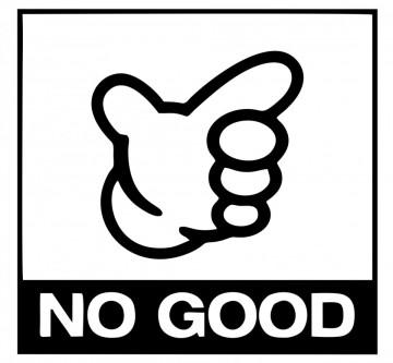 Autocolante  -  No Good