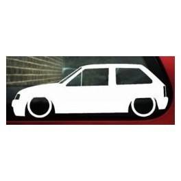 Autocolante - Opel Corsa A 3 Portas