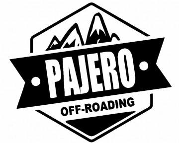 Autocolante - Pajero Off-Roading