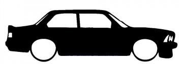 Autocolante para BMW E21