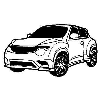 Autocolante para Nissan Juke