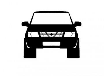 Autocolante para Nissan Patrol 120