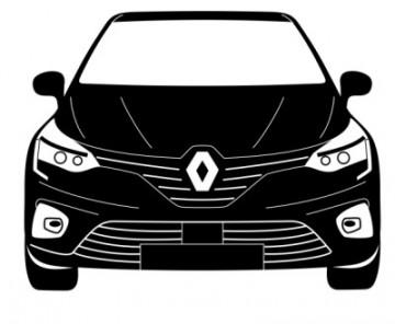 Autocolante para Renault Clio V (5) - Frente