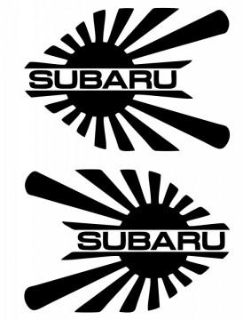 Autocolante para Subaru (par)