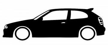 Autocolante para Toyota Corola E11