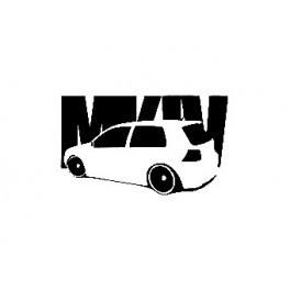 Autocolante para VW Golf Mk4 3