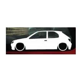 Autocolante - Peugeot 306 3 Portas