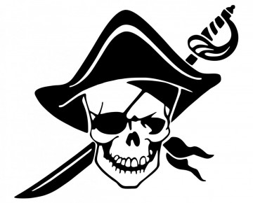 Autocolante - Pirata