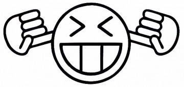 Autocolante - Smile a Tapar os Ouvidos