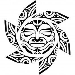 Autocolante - Sol Decorativo