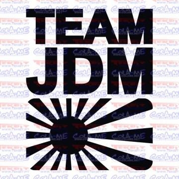 Autocolante - Team JDM