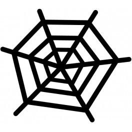 Autocolante - Teia De Aranha
