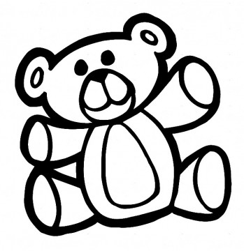 Autocolante - Urso