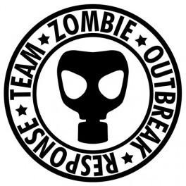 Autocolante - Zombie Outbreak 3