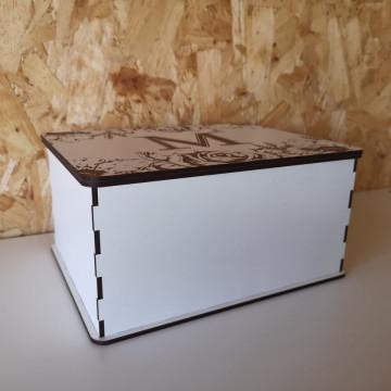 Caixa Para Chocolates / Guarda Joias - 22x17x10cm