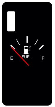 Capa de telemóvel com Fuel