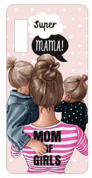 Capa de telemóvel com Super Mama