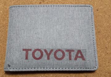 Carteira para Toyota
