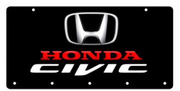 Chaveiro em Acrílico com Honda Civic
