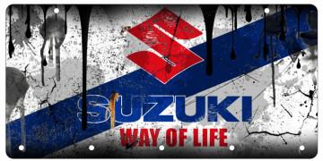 Chaveiro em Acrílico com Suzuki