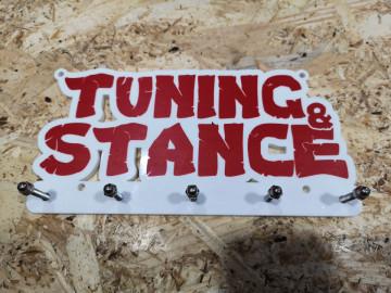 Chaveiro em Acrílico com Tuning & Stance
