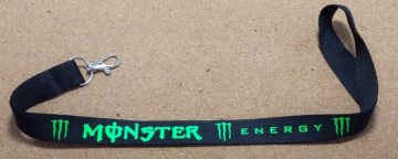 "Fita Porta Chaves com ""Monster Energy"""