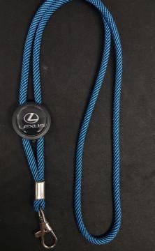 Fita Porta Chaves (lanyard) de Pescoço Ajustável para Lexus
