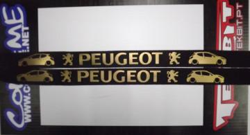 Fita Porta Chaves - Peugeot 207