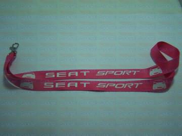 Fita Porta Chaves - Seat Sport Ibiza 6L Traseira