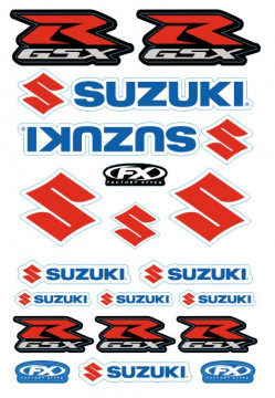 Folha / Pack de Autocolantes - Suzuki
