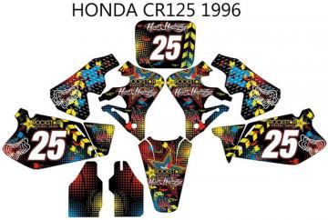 Kit Autocolantes Para HONDA CR 125 95-97